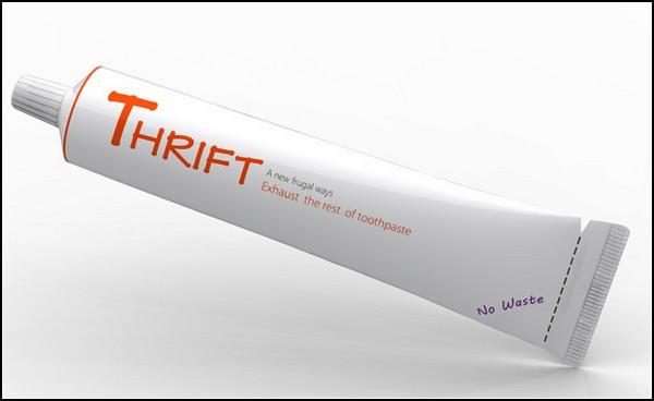 Удобная инновационная упаковка для зубной пасты