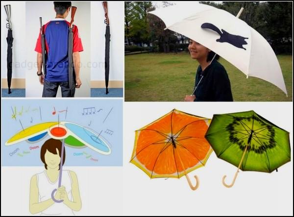 Обзор необычных зонтов