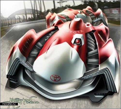 Toyota Lemans Racer