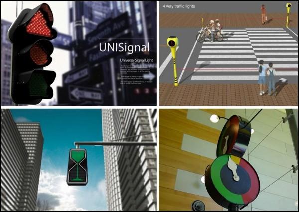 Обзор концептуальных светофоров