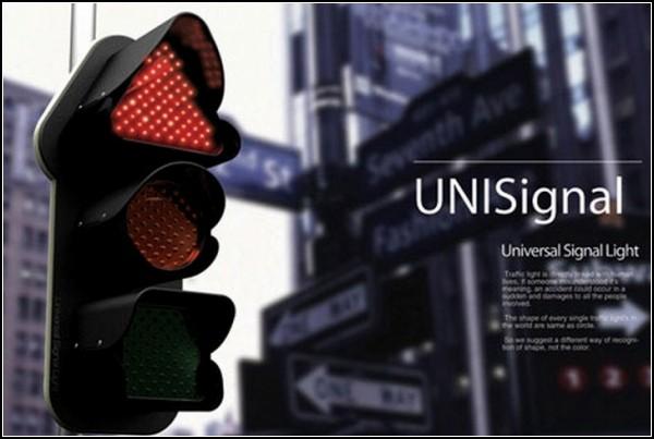 Концепт светофора UNISignal