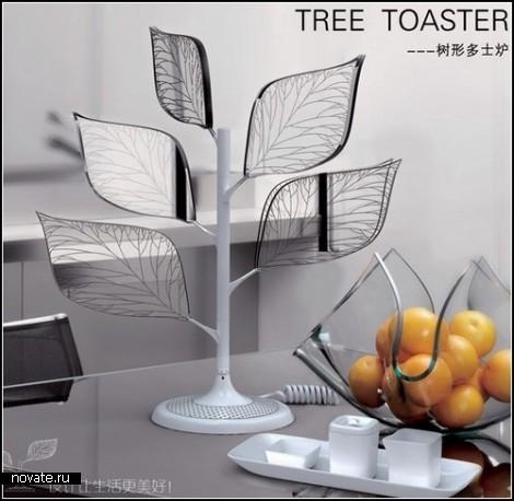 Концептуальный чудо-тостер  Toaster Tree от Xu Yanxiang