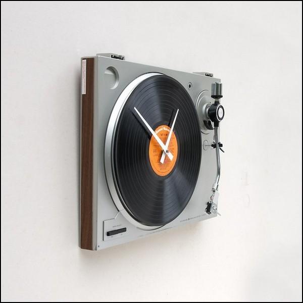 Turntable clock. Кварцевые часы из старых проигрывателей