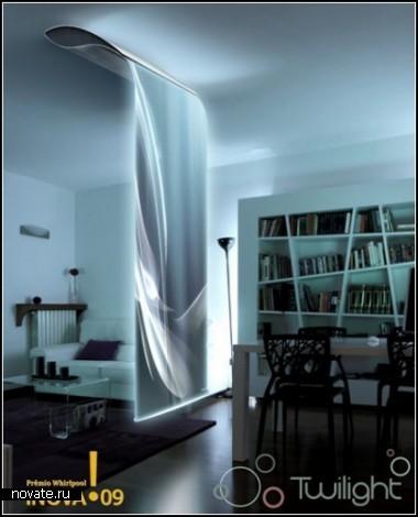 Twilight. Концептуальный кулер для воздуха с голографическим экраном