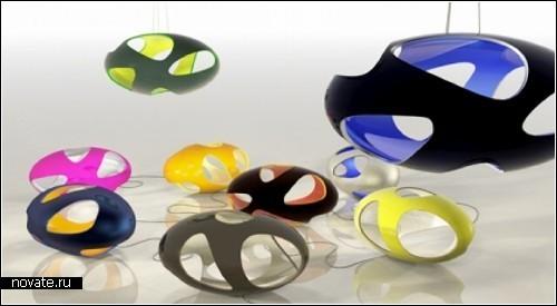 Инопланетные UFO-lamps от португальского дизайнера Nuno Teixeira