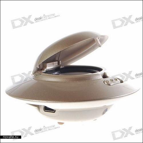 USB-колонки Flier в виде летающих тарелок