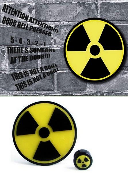Звонок с радиацией Nuclear Doorbell
