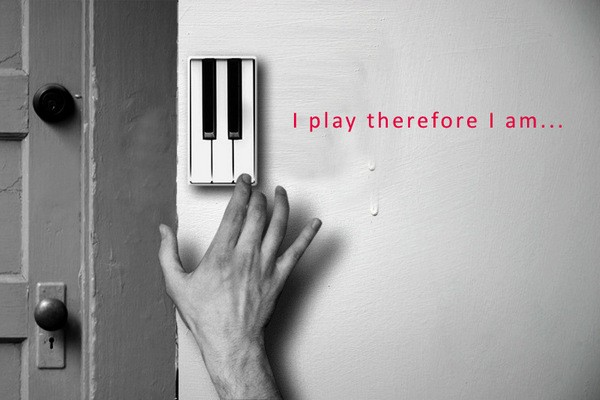 Дверной звонок Piano Key Doorbel