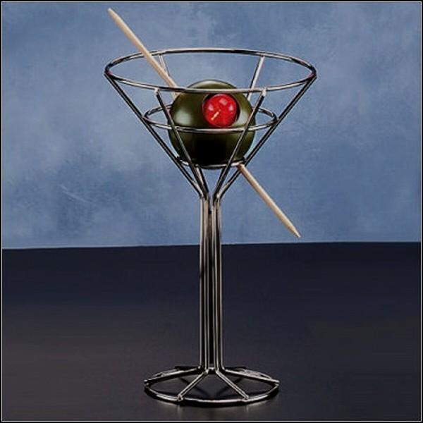 Гламурный арт-светильник в виде мартини