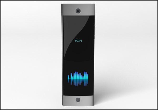 Постучи, отстучи, потряси, - концептуальный смартфон Von