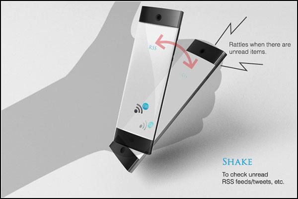 Концептуальный телефон Von от Мака Фунамизу (Mac Funamizu)
