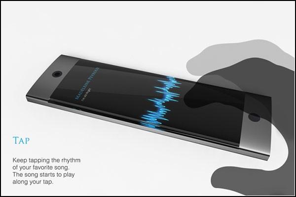 Отстучи ритм - найди мелодию. Концептуальный смартфон Von