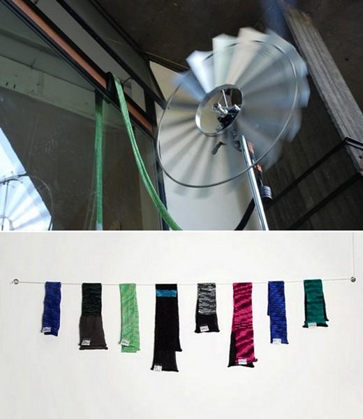 Wind Knitting Factory: ветряк для вязания шарфов. Дизайн-проект  Мерел Кархов