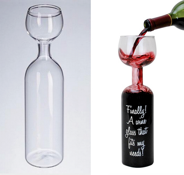 Бокал-бутылка  Orgiastic Carafe от Edouard Larmaraud