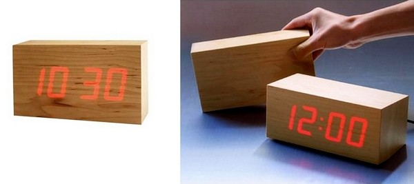 Концептуальные часы из дерева от Kouji Iwasaki