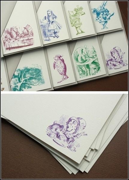 Обзор дизайнерских изделий с сюжетами из *Алисы* Льюиса Кэрролла