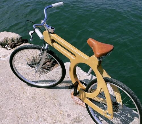 """Велосипед с """"протезом"""