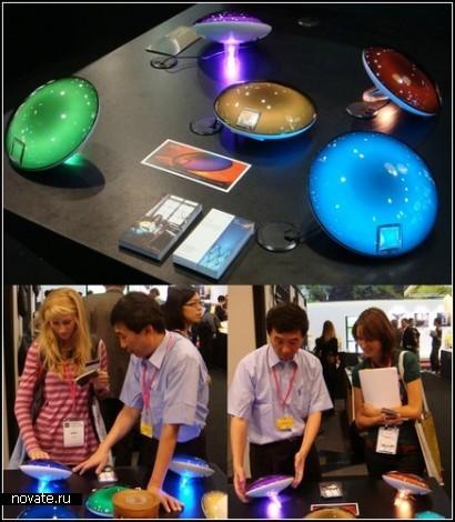 Светильник-*медуза* Yantouch Jellyfish Lamp с мега-радугой внутри