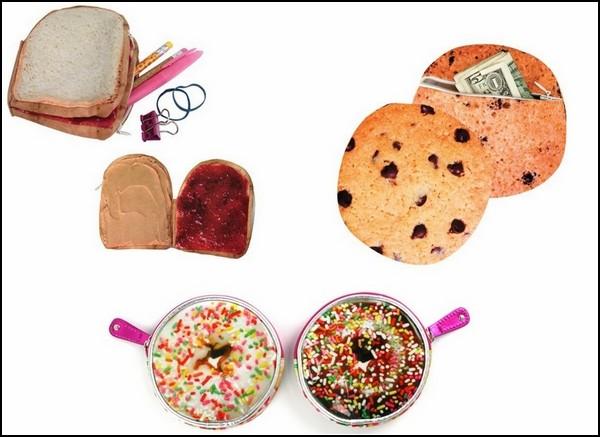 Yummy Pockets: аппетитные кошельки для денег и прочей мелочи