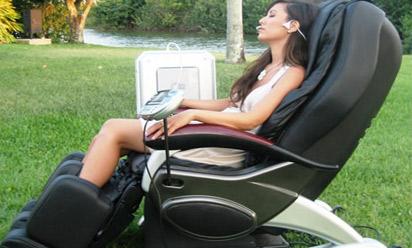 Кислородное кресло с мультимедиа-возможностями