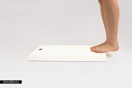 Напольные весы, не причиняющие вреда человеку