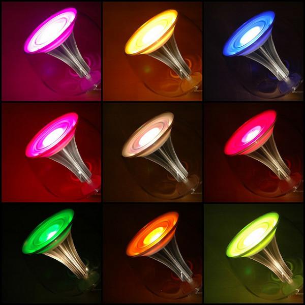 Оформление вечеринок и предметов интерьера с помощью светодиодов