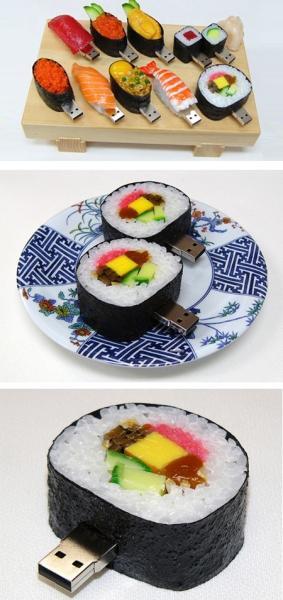 Аппетитные флешки в виде суши