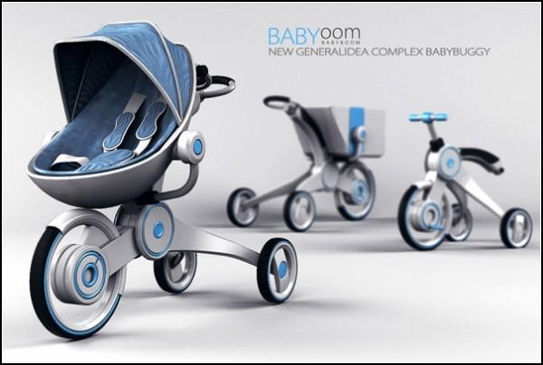 Больше, чем просто детская коляска. Babyoom – функциональный трансформер для экономных родителей