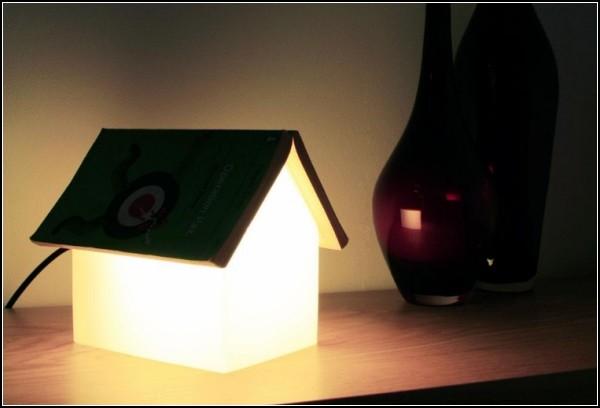 BOOK REST LAMP - это лампа-закладка