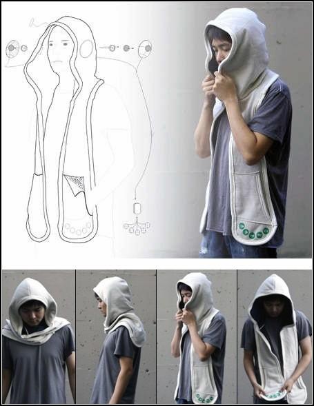 Комфортный шарф-капюшон  - девайс в помощь аутичным людям