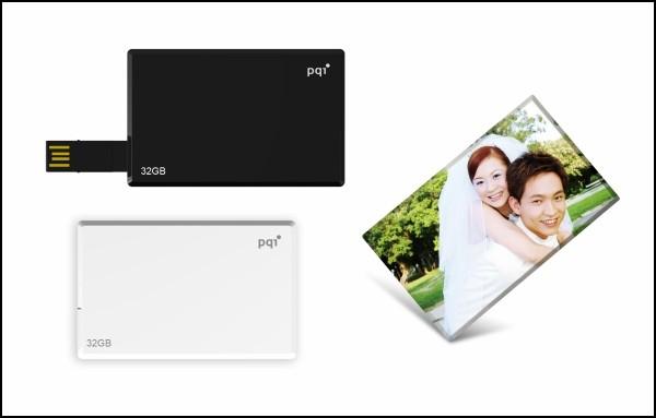 Флешка в виде визитной карточки