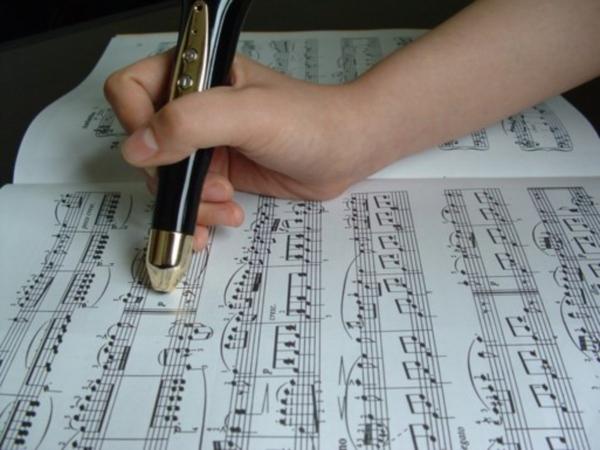 Ручка - самоучитель в помощь начинающему музыканту