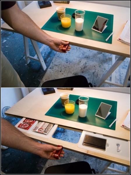 Что общего между апельсиновым соком и банкнотой? Интересные тайники в привычных вещах