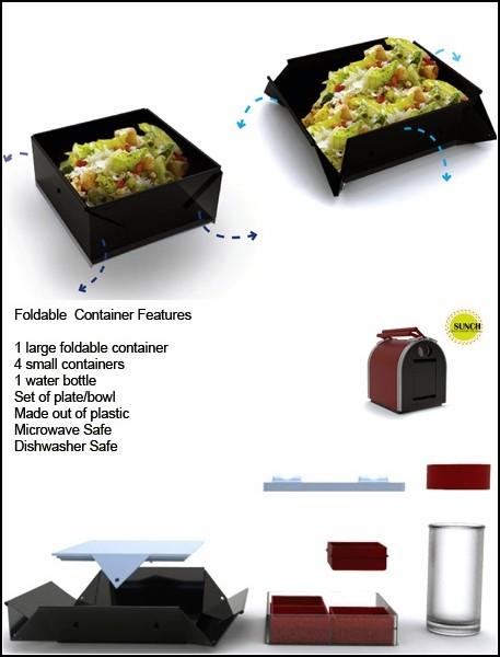 Контейнер для еды Sunch Lunch Box - правильное питание всегда и везде