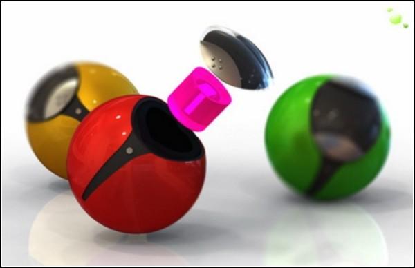 Аккумулирующие электроэнергию шарики. Два варианта реализации одной идеи.