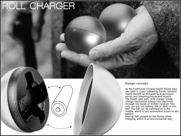 Шарики для медитации - зарядное устройство для аккумуляторов