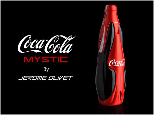 Новый футуристичный дизайн бутылки Coca-Cola