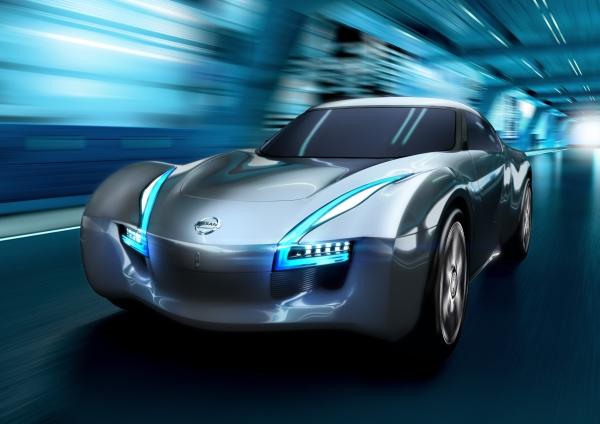 Nissan Esflow - Искра для электромобилей