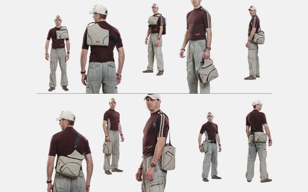 MIXBAG можно носить десятью способами