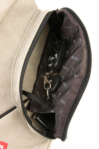 карман с карабином и перегородкой