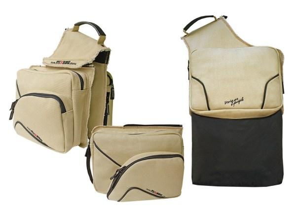 Разные варианты ношения сумки Mixbag