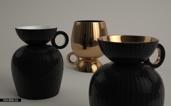 Двойная чашка DOUBLE CUP