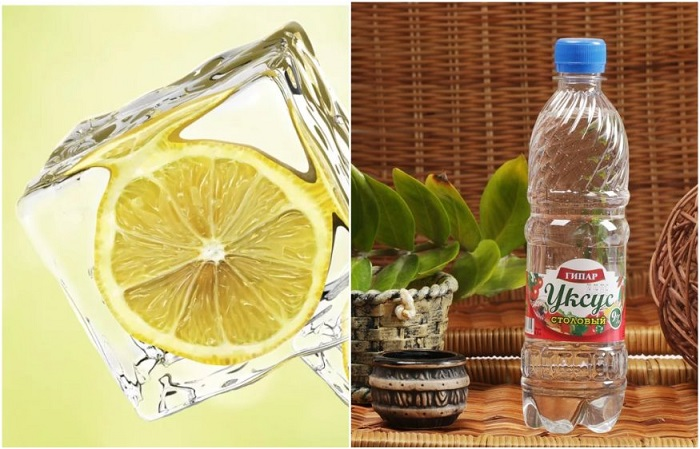 Лимон нужно предварительно заморозить