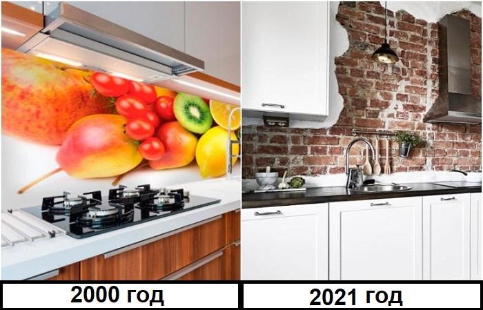 Кухонные фартуки с фруктами давно не актуальны