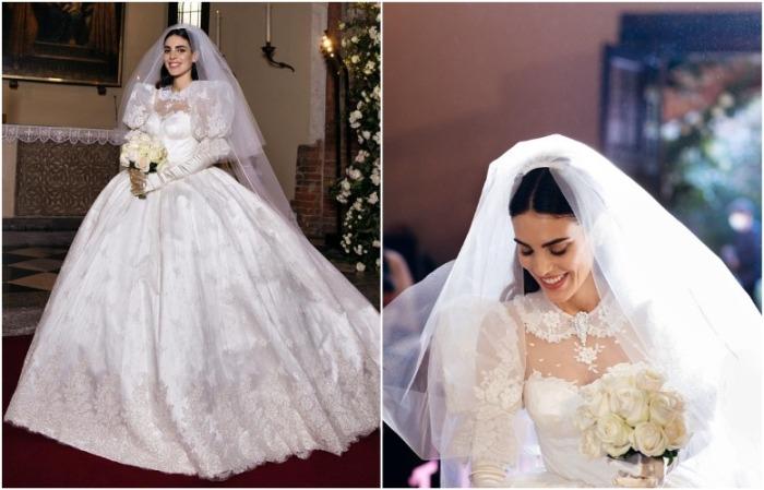 Автор свадебного платья Федерики - дизайнер Алессандра Рич