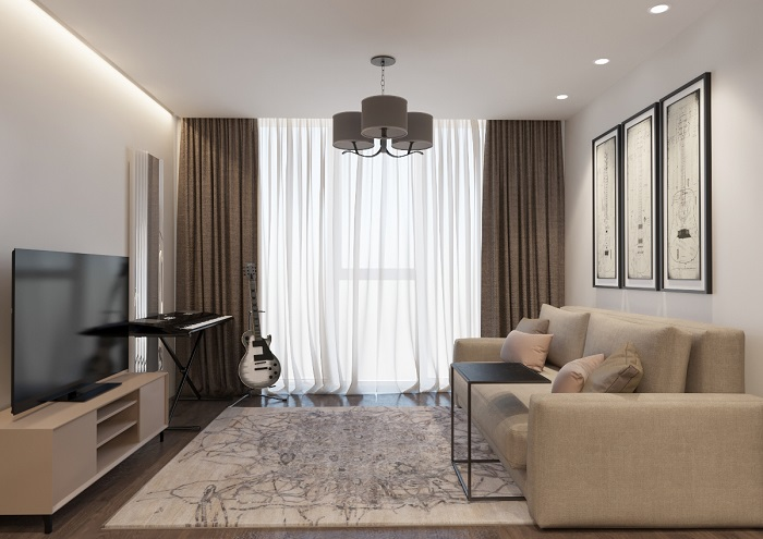 Лаконичный интерьер смотрится более стильно. / Фото: housesdesign.ru