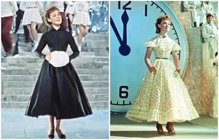 Два новогодних платья Лены Крыловой