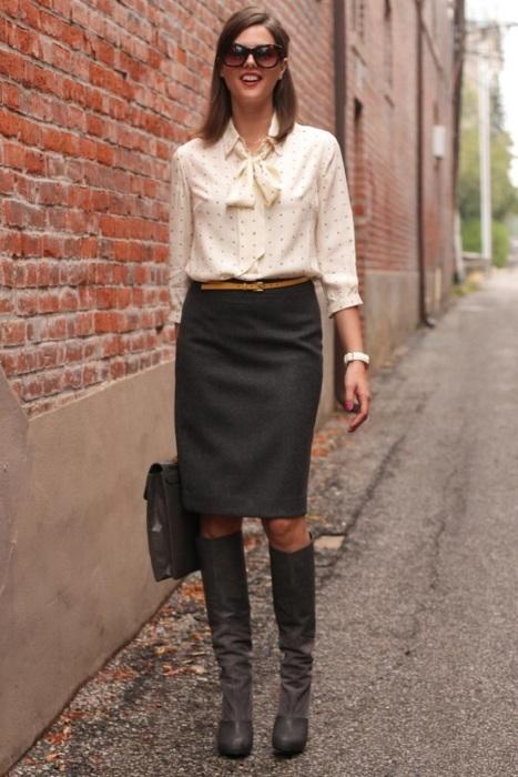 Неудачный деловой образ. / Фото: Lady-journal.info