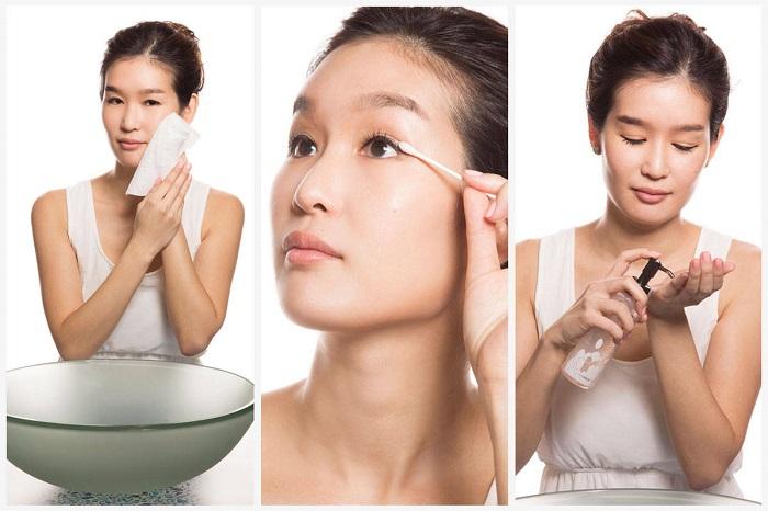 Чтобы кожа была красивой и здоровой, нужно соблюдать несколько этапов очищения. / Фото: vplate.ru