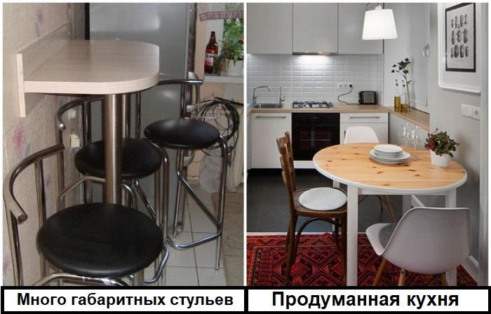 Каждая зона на кухне должна быть продумана